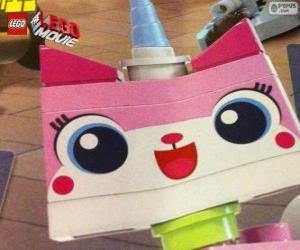 Puzzle Uni Kitty, le chaton licorne de la grande aventure de Lego, le film
