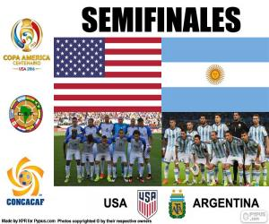 Puzzle USA-ARG, Copa América 2016
