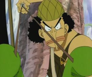 Puzzle Usopp, le flingueur du équipage de pirates et expert d'armes