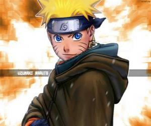 Puzzle Uzumaki Naruto est le héros des aventures d'un jeune ninja