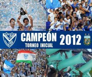 Puzzle Vélez Sarsfield, champion du Torneo Inicial 2012, Argentine