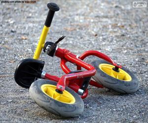 Puzzle Vélo enfant
