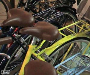 Puzzle Vélos pour la ville