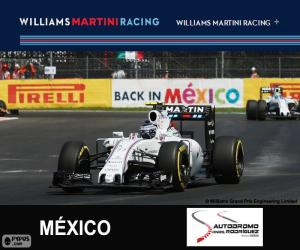 Puzzle V. Bottas G.P. Mexique 2015