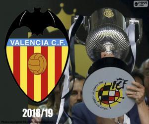 Puzzle Valencia CF, Copa del Rey 2018-19