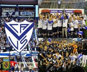 Puzzle Velez Sarsfield, Champion Clausura 2011, Argentine
