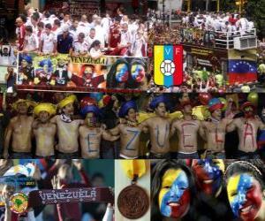 Puzzle Venezuela, 4e place Copa America 2011