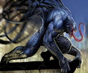 Puzzle Venom est une forme de vie symbiote et l'un des ennemis jurés de Spider-Man