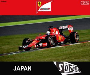 Puzzle Vettel G.P Japon 2015