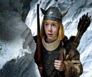 Puzzle Vicky le Viking surpris