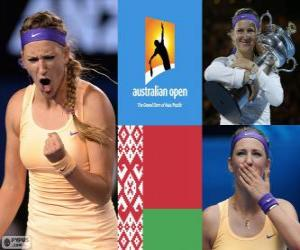 Puzzle Viktoria Azarenka champion Open Australie 2013