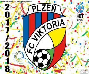 Puzzle Viktoria Plzen, HET Ligue 2017-18