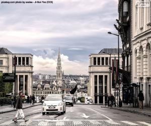 Puzzle Ville de Bruxelles, Belgique