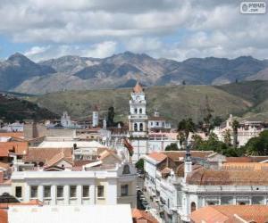 Puzzle Ville historique de Sucre, en Bolivie