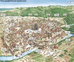 Puzzle Ville médiévale