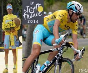 Puzzle Vincenzo Nibali, champion du Tour de France 2014