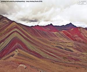 Puzzle Vinicunca, Pérou