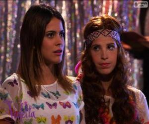 Puzzle Violetta et Camila