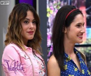 Puzzle Violetta et Francesca