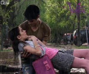 Puzzle Violetta et Tomás