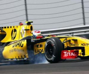 Puzzle Vitaly Petrov - Renault - Istanbul 2010