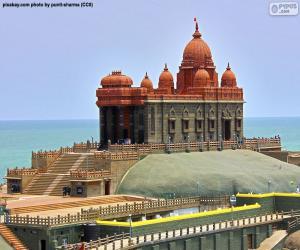 Puzzle Vivekananda Rock Memorial, Inde