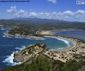Puzzle Voidokiliá Bay, Grèce