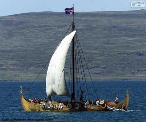 Puzzle Voilier Viking
