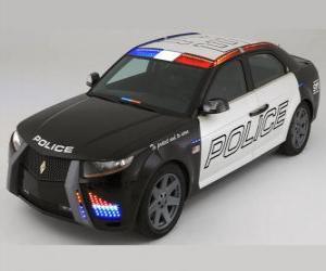 Puzzle voiture de police