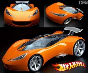 Puzzle Voiture de sport Hot Wheels