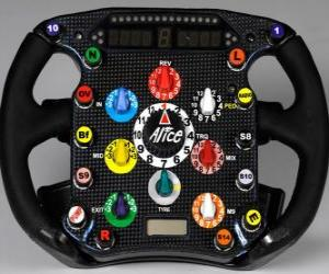 Puzzle Volant F1