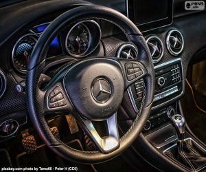 Puzzle Volant Mercedes-Benz