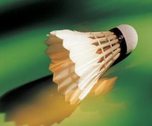 Puzzle Volant pour jouer de badminton