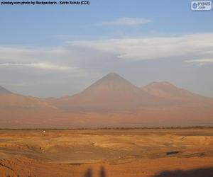 Puzzle Volcans de Atacama, Chili