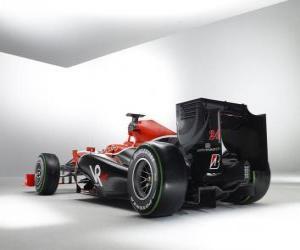 Puzzle Vue arrière, Virgin VR-01