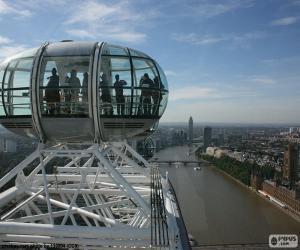 Puzzle Vue depuis le London Eye