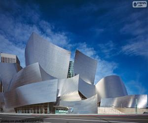 Puzzle Walt Disney Concert Hall, États-Unis
