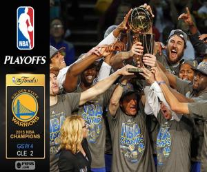 Puzzle Warriors, champions NBA 2015
