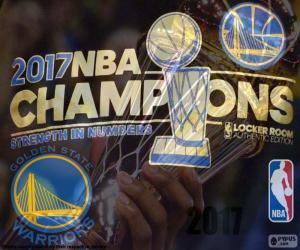 Puzzle Warriors, champions NBA 2017