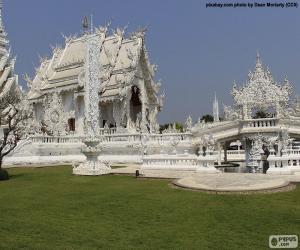 Puzzle Wat Rong Khun, Thaïlande
