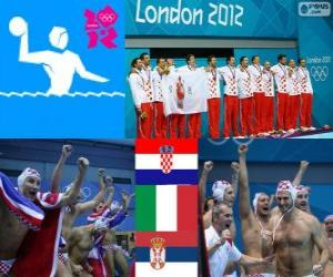 Puzzle Water-polo hommes Londres 2012