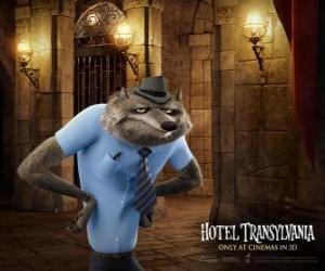Puzzle Wayne, le loup-garou