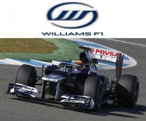 Puzzle Williams FW34 - 2012 -