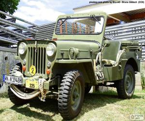 Puzzle Willys MB