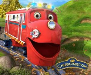 Puzzle Wilson, le locomotive protagoniste du Chuggington