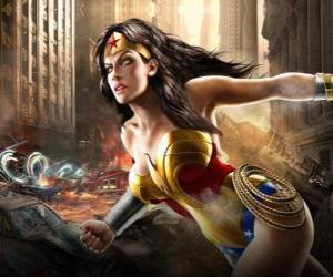 Puzzle Wonder Woman est une super-héroïne immortel de pouvoirs semblables à Superman