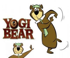 Puzzle Yogi l'ours vivre de grandes aventures dans Jellystone Park