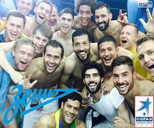 Puzzle Zenit, champion 2014-2015