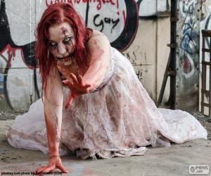 Puzzle Zombie, Halloween