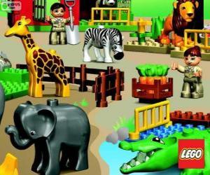 Puzzle Zoo de Lego